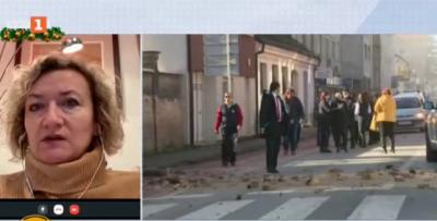 Българка за земетресенията в Хърватия: В рамките на последните 50 часа имаше над 40 труса