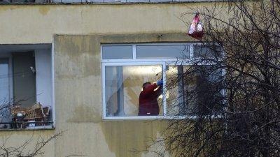 Взрив на газова бутилка изби прозорците на апартамент в Благоевград
