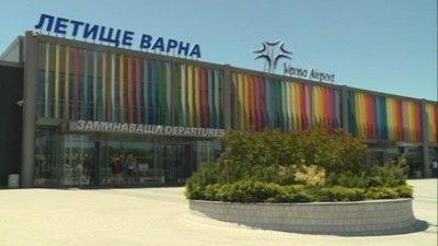 Близо 80% спад на пътниците отчитат летищата във Варна и Бургас