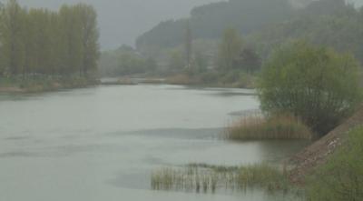 Река Места отнесе въжен мост