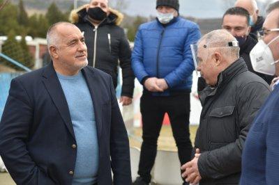 Борисов в Симитли призова за единство в пандемията