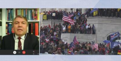 Проф. Асенов от Вашингтон: В Капитолия нещата вече са под контрол