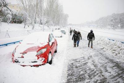 4 жертви взе снежната буря Филомена в Испания
