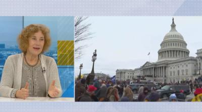 Елена Поптодорова: 25-ата поправка за отстраняване на президента на САЩ няма да се задейства