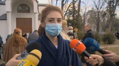 """Педиатърът д-р Миленова """"хвана"""" кръста в Александровска болница"""