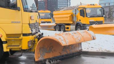 Жълт код за сняг е обявен в София