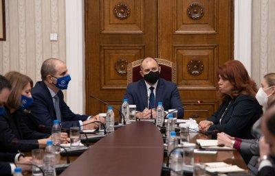Датата на изборите - основен акцент в днешните консултации при президента Радев