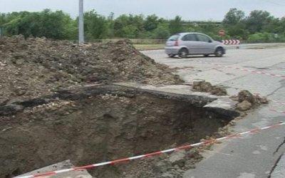 Пропадна пътят между кърджалийските села Рогозче и Овчево