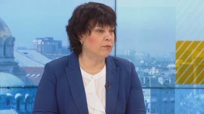 Таня Михайлова: Обсъжда се учениците от 7. и 12. клас да се върнат в клас на 4 февруари