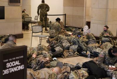 20 000 души от Националната гвардия охраняват Вашингтон
