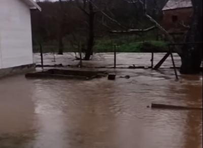 Наводнени са къщи в село Воден