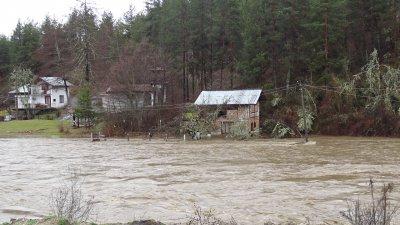 Около 15 къщи са наводнени в района на Хаджидимово