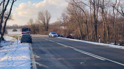 Водач загина при катастрофа между две великотърновски села