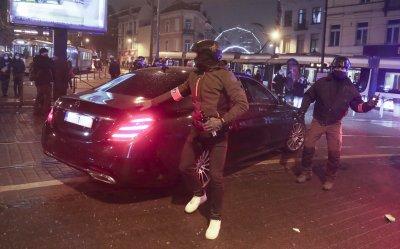 Около 100 души са арестувани на протестите в Брюксел