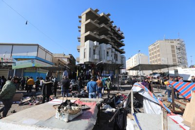Близо 30 убити и над 70 ранени при атентат на пазар в Багдад