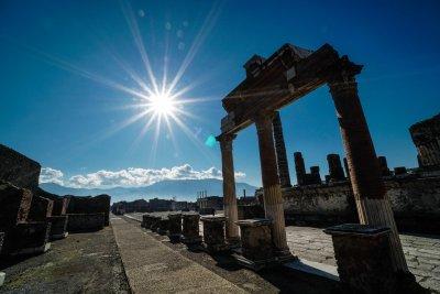 Тишината в Помпей (Снимки)
