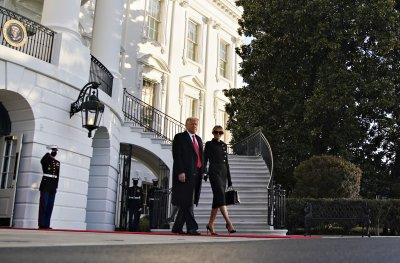 Доналд Тръмп напусна Белия дом