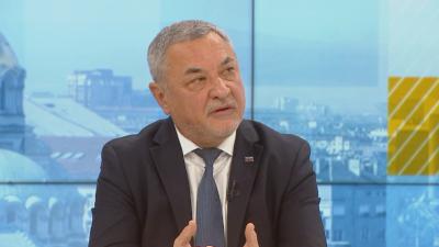 Валери Симеонов: Подготвяме съвместно явяване на изборите с ВМРО