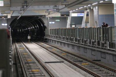 Проблем в релсовия път спря метрото по третата линия