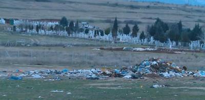 Незаконно сметище край Асеновград