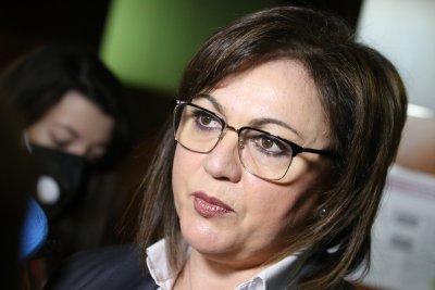 Нинова представи план за възстановяване на икономиката