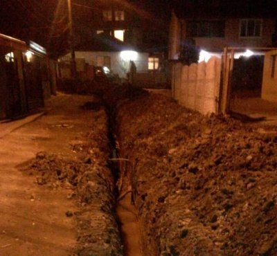 120 метра тръби вече са положени в незаконния водопровод в Хасково