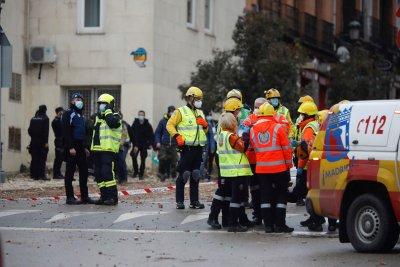 Двама души са загинали при взрива на сграда в Мадрид