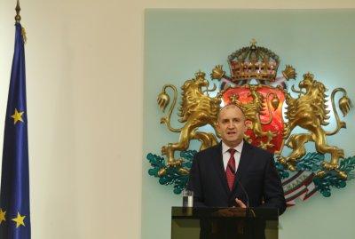Президентът Румен Радев отчете четвъртата година от встъпването си в длъжност