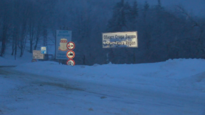 Проходът Шипка е отворен за движение при зимни условия