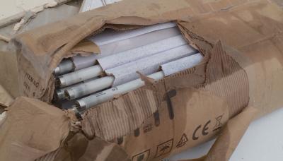 Откриха лампи с живак на незаконно сметище в Пловдив