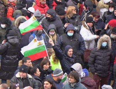 Ресторантьорите излязоха на мирен протест с искане да отворят от 1 февруари