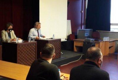 Министърът на културата разговаря с представители на филмовата индустрия