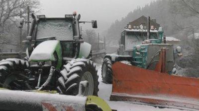 Зимната обстановка: Няма затворени пътища в Софийска област