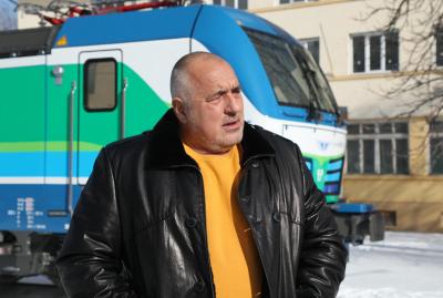 Бойко Борисов провери новите локомотиви на БДЖ