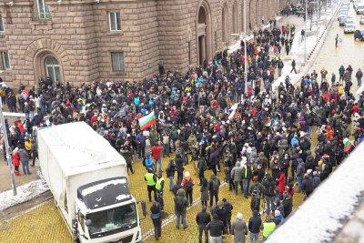 Ресторантьори излязоха на протест, няма да отварят на 1 февруари