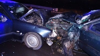 Двама постадали при верижна катастрофа на входа на Благоевград (СНИМКИ)