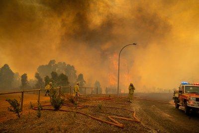 Силен вятър разгаря горския пожар в Австралия, опасността за хората остава