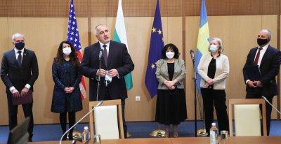 """Борисов: Договорът между АЕЦ """"Козлодуй"""" и """"Уестингхаус Електрик Швеция"""" е поредната стъпка на България за диверсификация"""