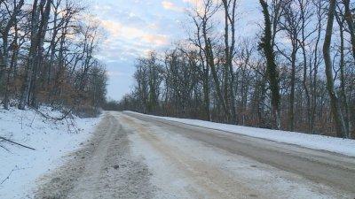 Зимната обстановка в Северна България: Силен вятър и населени места без ток