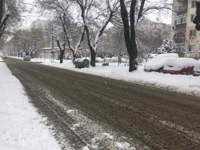 Няма заледени участъци в Пловдив, всички улици са проходими