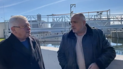 Бойко Борисов инспектира пречиствателната станция в Ямбол