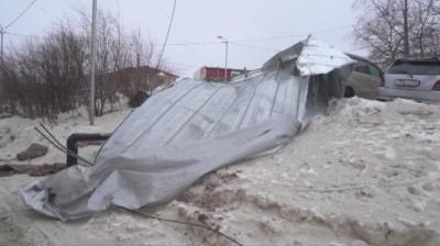 Ураганни ветрове в Русия