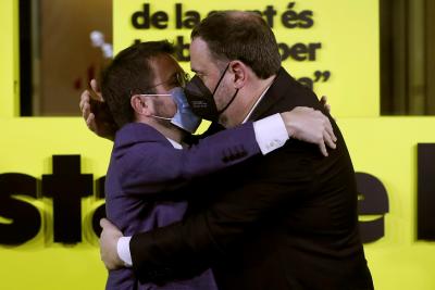 Силно представяне на сепаратистките партии на изборите в Каталуния