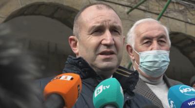 Румен Радев коментира думите на премиера за скандала със сина му