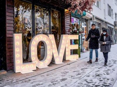 Св. Валентин - празникът на любовта (Снимки)