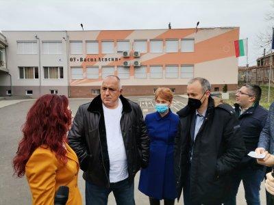 Борисов: Образованието беше приоритет за нас през последните 4 г., ще остане и занапред