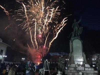 С военен ритуал и заря в Карлово отбелязаха 148 години от гибелта на Левски