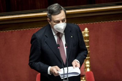Марио Драги ще представи кабинета си в Сената