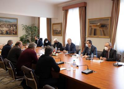 Румен Радев обсъди организацията за изборите с Националното сдружение на кметствата