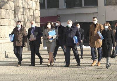 Коалиция ГЕРБ-СДС се регистрира за парламентарния вот